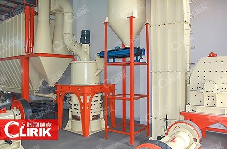 Feldspar powder processing plant
