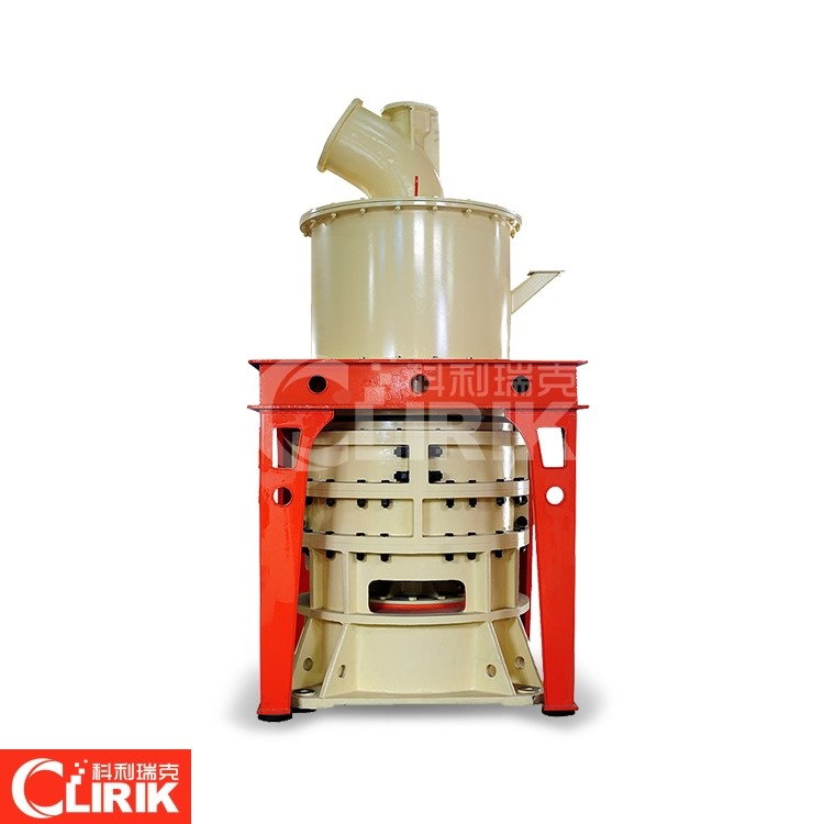 What grinding mill is commonly used for gypsum powder?