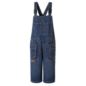 Denim workwear bibpants