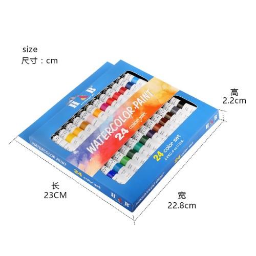 Chinese wholesale  professional watercolor paints set tubes
