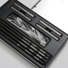 H&B 12PCS  Small Tin sketch Charcoal Drawing Art Set