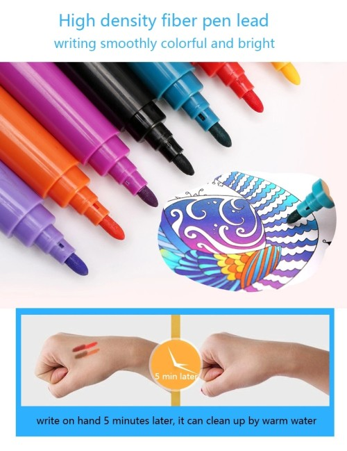 208pcs HB rainbow drawing art set for kids