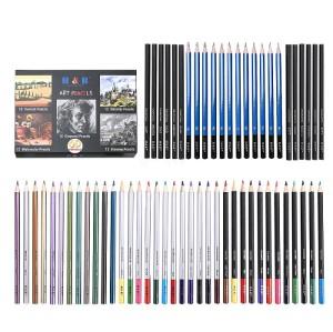 H&B 60 pcs color pencil set suppliers for adults