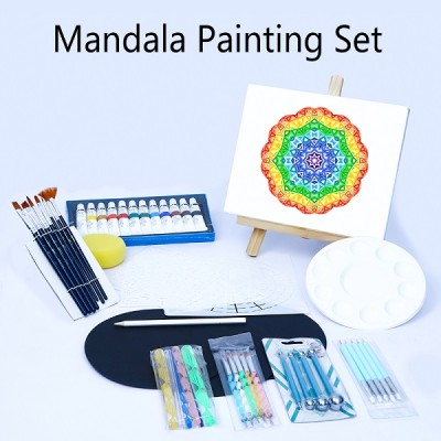 H&B Professional Supplies Tools Kits Drawing and Drafting Amazon 55PCS mandala dotting set tool