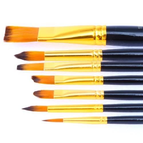 H&B New Design 24 Colors acrylic paint  brush set For Artist