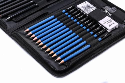 H & B 40 Sketching Pencils Set For Beginners