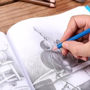 H & B 50 sketching pencils kit europe