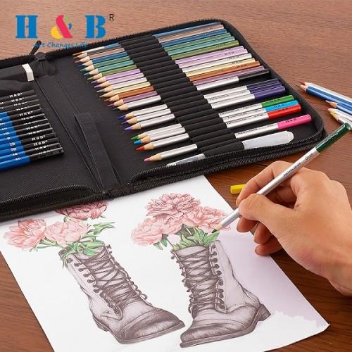H & B colored pencil kit 51 europe