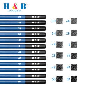 H & B 71 drawing colored pencil set