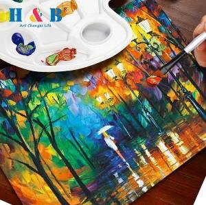 H & B 16 acrylic paint set for kids