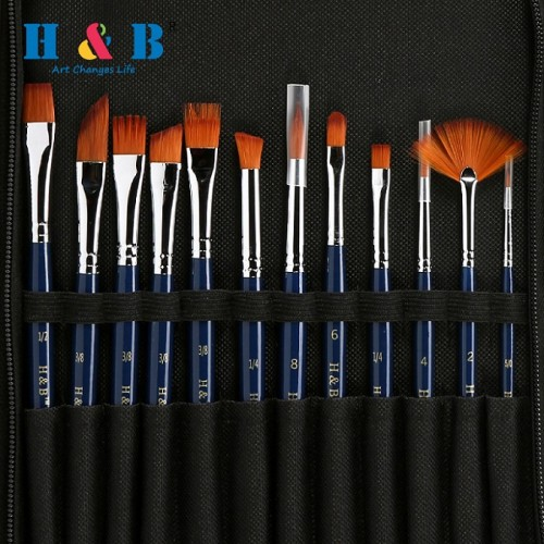 H & B 13 pcs brush set europe
