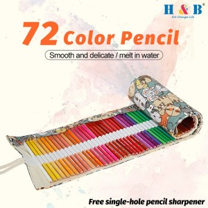 H & B 72 Water-soluble color pencil