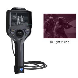 6MM TJ Series IR & white dual lights Police Security Videoscope