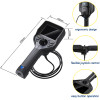 T35H Series Mega Pixels Industrial Endoscope/ 4 Way Articulating Borescope/ 6mm Video Endoscope