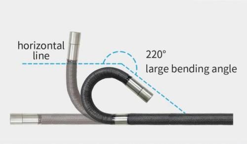 JEET 2.2MM Front View S-Series HD Industrial Endoscope