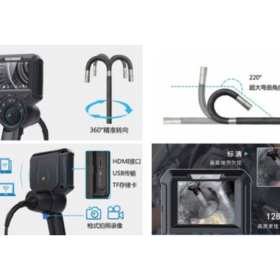 Industrial endoscopes have been widely used in the pipeline welding industry!