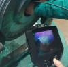 Expert in internal inspection of castings - UV Ultraviolet Borescope