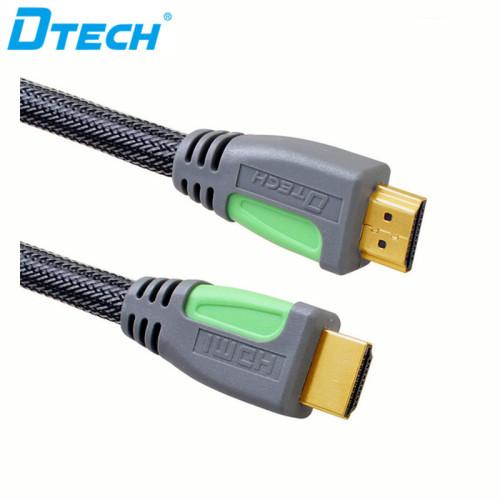 كابل HDMI النحاس مع المنسوجة وش