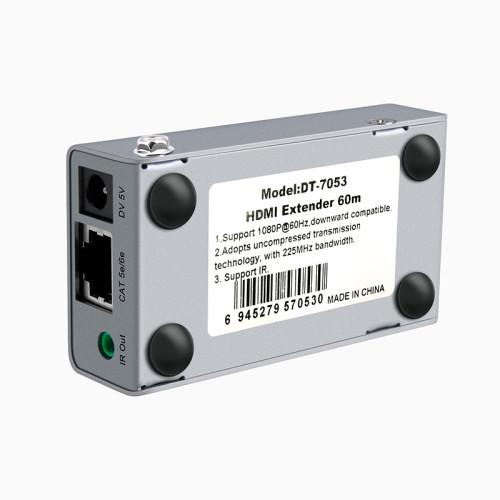 DTECH DT-7053 HDMI أحادي Cat5e / 6 موسع 60m