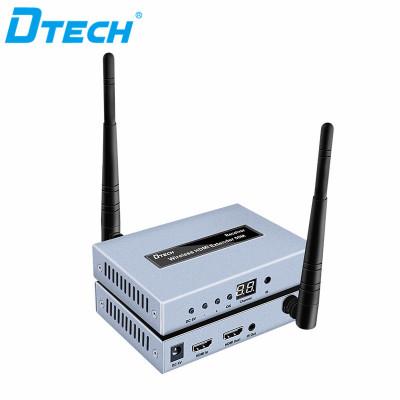 Penjualan panas HDMI extender sinyal WI-FI nirkabel 1 input 4 output 50 m dengan loop