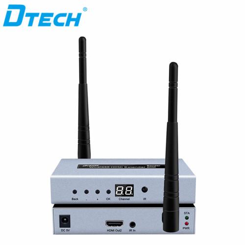 حار بيع HDMI اللاسلكية WI-FI إشارة موسع 1 المدخلات 4 إخراج 50M مع حلقة