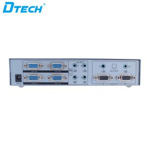 Dtech Switch Splitter IR Function VGA Matrix 4 * 2 1080p