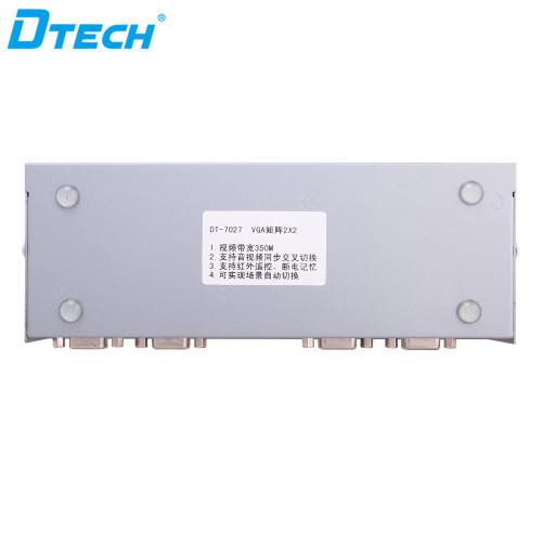 Dtech الصوت والفيديو VGA MATRIX 2x2