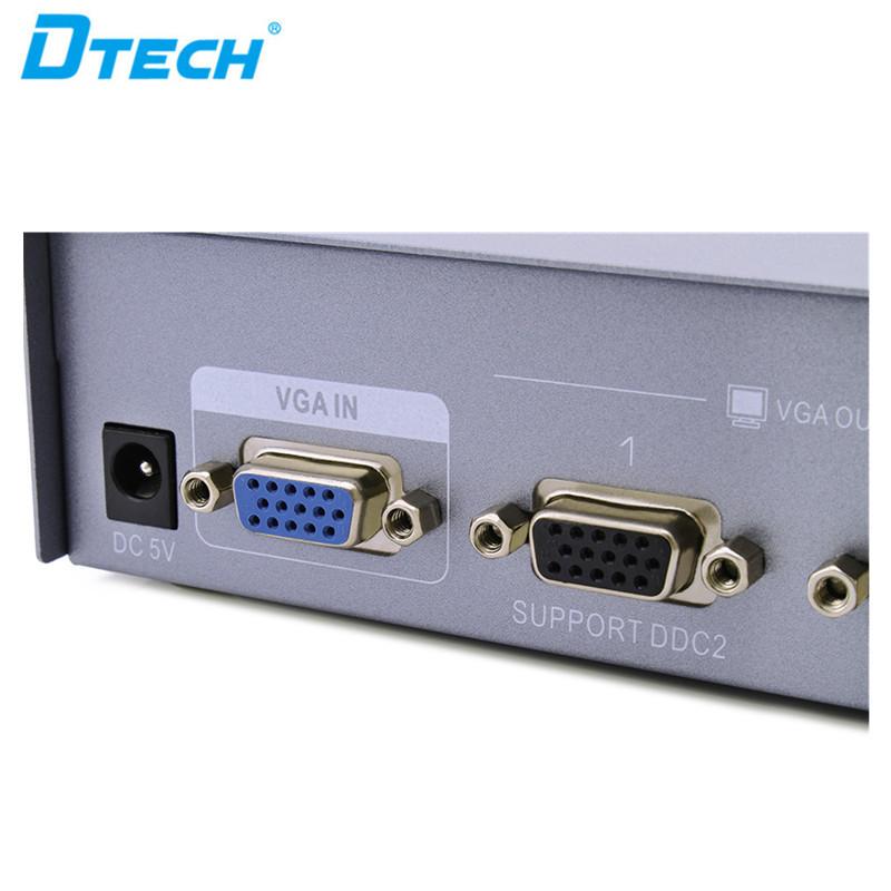Port VGA Splitter 1 hingga 2 (250MHz)