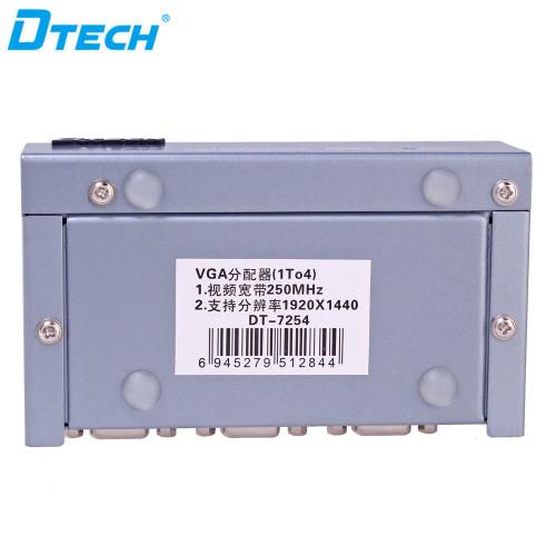 منافذ VGA الفاصل من 1 إلى 4 منافذ (250 ميجا هرتز)