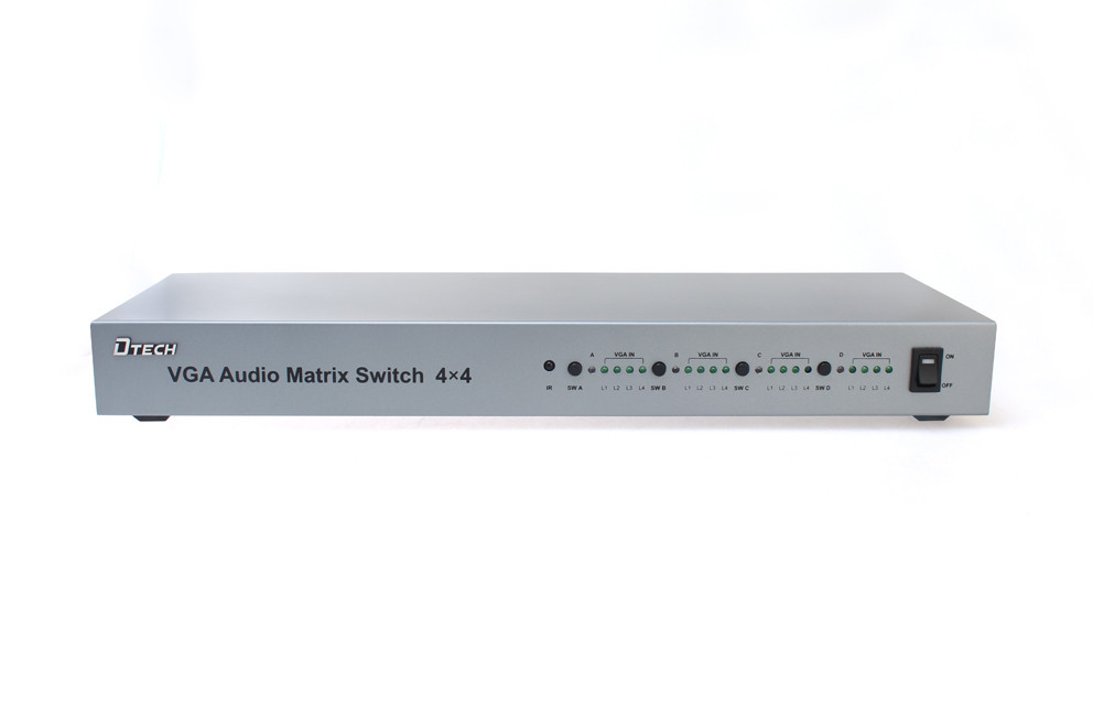 VGA with Audio matrix switcher 4 * 4