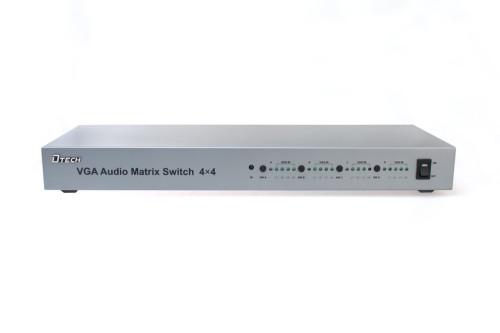 VGA مع الصوت مصفوفة الجلاد 4 * 4