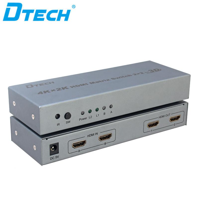 DTECH 4K*2K HDMI MATRIX SWITCH 2*2