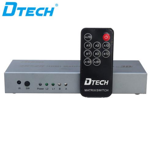 4K * 2K HDMI MATRIX التبديل 2 * 2