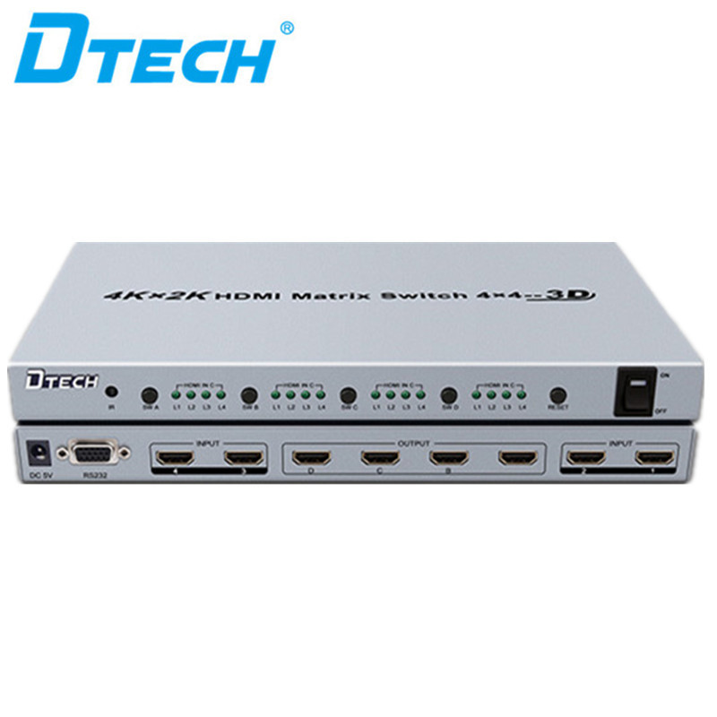 4K * 2K HDMI MATRIX SWITCH 4 * 4