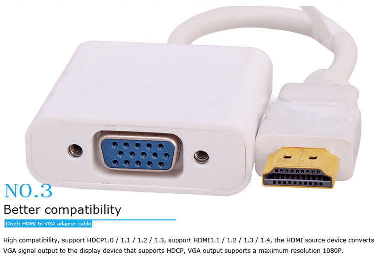 HDMI TO VGA adapter cable