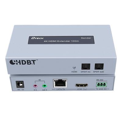 DT-7051A HDBaseT 4K HDMI RS232 Extender 100M