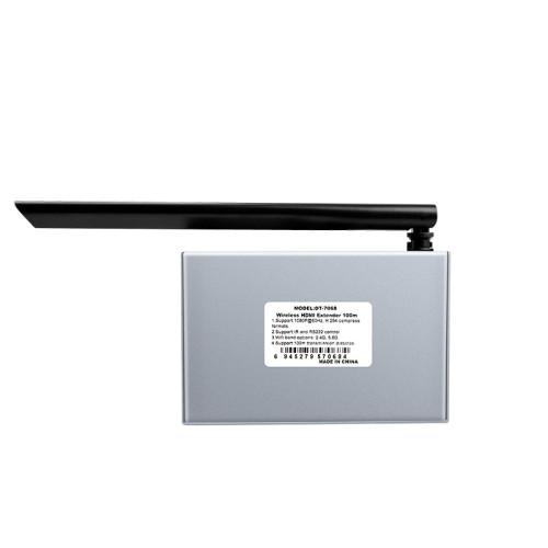 DT-7068 موسع HDMI لاسلكي 100 متر مع حلقة (1 إلى 4)