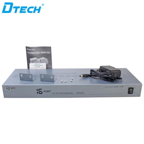 منفذ VGA الفاصل من 1 إلى 16 منفذًا (500 ميجا هرتز)