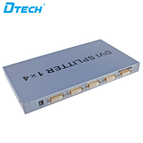 1920x1080@60Hz 1 to 4 Ports Metal Shell DVI Splitter