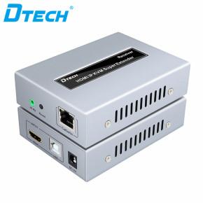 DT-7050 1080P HDMI IP KVM extender 100m with IR