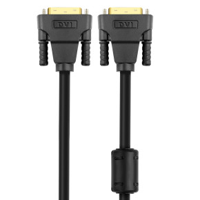 Support 4Kx2K@30Hz Male to Male 1m DVI Cable