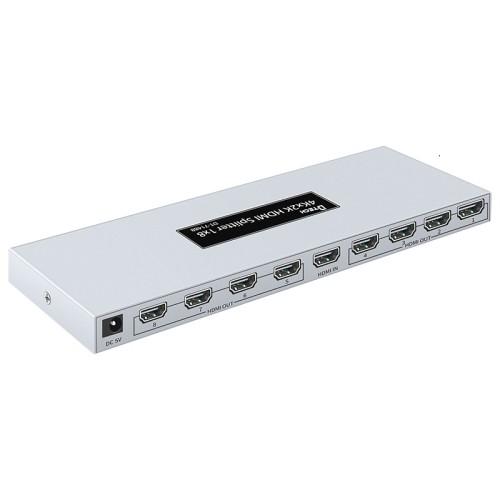 DT-7148B 20 سنة فاكوتري HD 4K 1X8 HDMI الفاصل 8 منافذ
