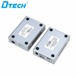 DT-7040A DTECH 4K USB 2.0 HDMI KVM Extender 100M Cat5e Cat6e