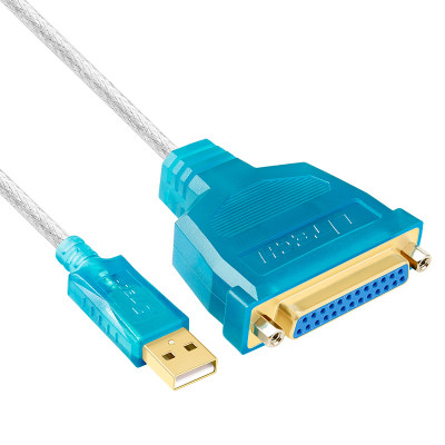 USB to DB25 Parellel IEEE1284 Cable (Printer Cable) 1.8m