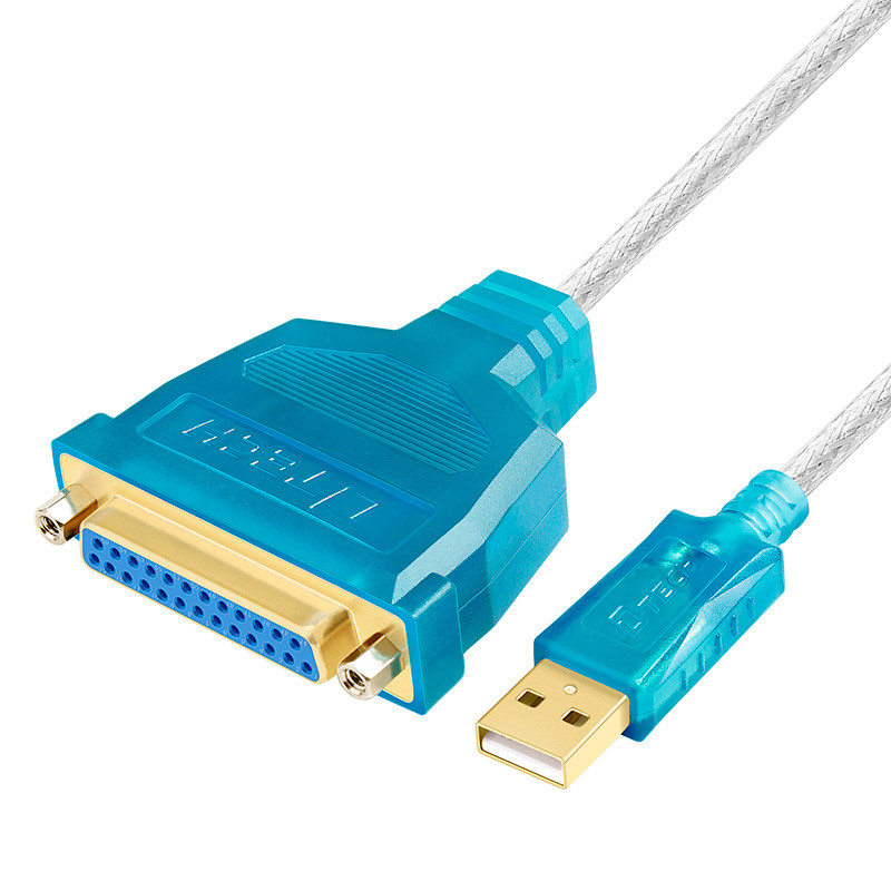 Dtech USB to DB25 Parellel IEEE1284 Cable (Printer Cable) 1.8m