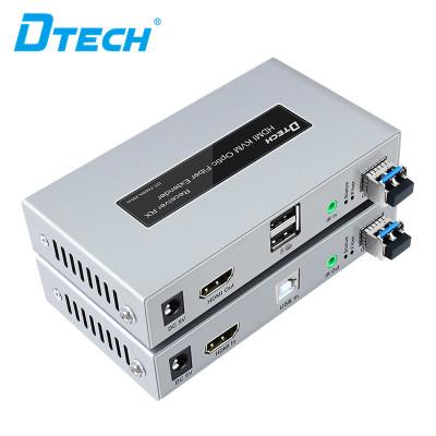 DT-7059  Factory Price OEM ODM KVM RX TX HDMI over fiber extender over fiber 20km