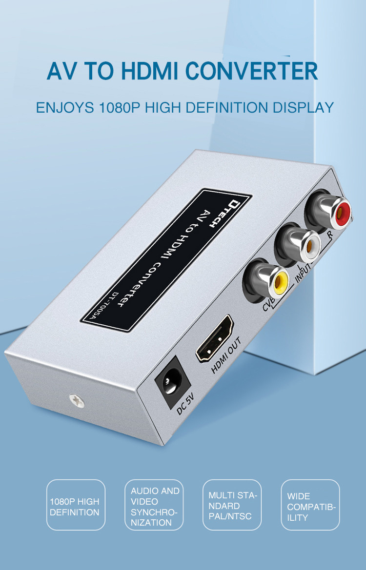 Dtech AV to HDMI high-definition converter