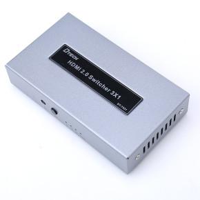 DTECH hdmi switch box best 4K HDMI Switch 3x1 hdmi switcher