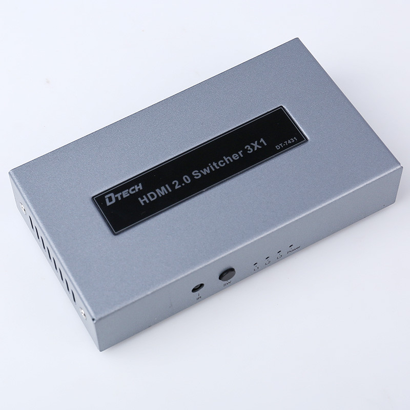 DTECH DT-7431 4K  HDMI 2.0 SWITCH  3 In 1 Out
