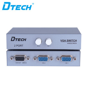 DTECH DT-7032 1920 * 1440 Button VGA SWITCH 3X2